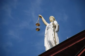 Lady Justice Holding Scales