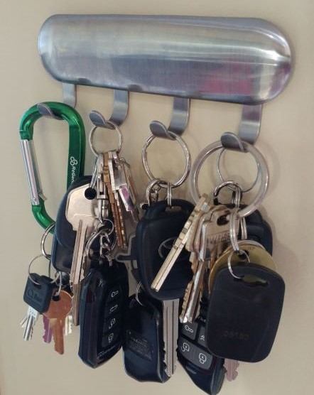 Easy to access keys make stealing a vehicle easy for burglars.