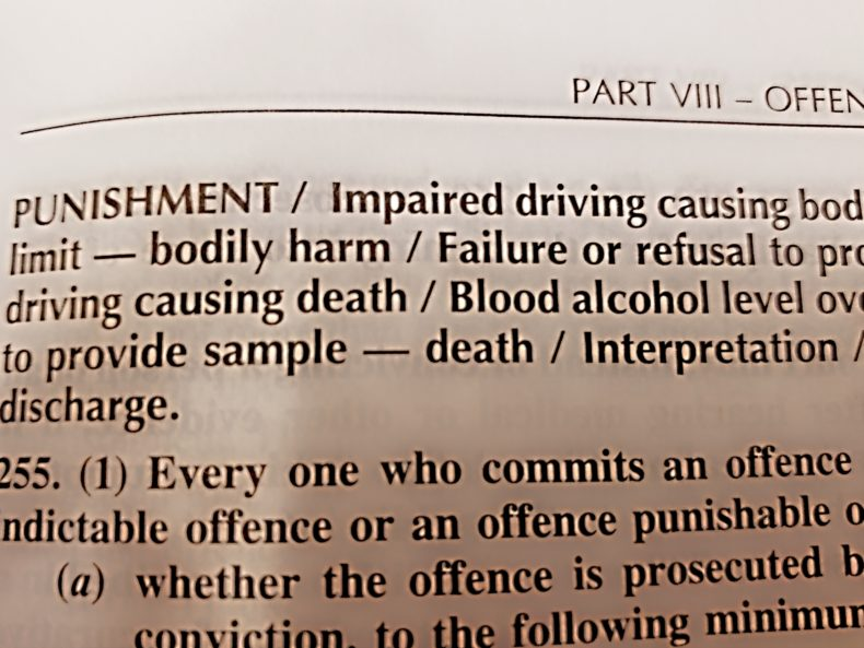 Impaired Driving Penalties in Canada